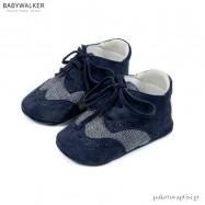 Δετά Μπλε Brogues Αγκαλιάς Babywalker MI1095