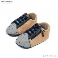 Sneakers Αγκαλιάς με Πλαϊνό Φερμουάρ Babywalker MI1096