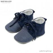 Μπλε Δετά Sneakers Αγκαλιάς Babywalker MI1099