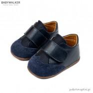 Μπλε Brogues με Μονή Μπαρέτα Babywalker PRI2056
