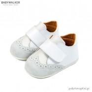 Λευκά Brogues με Μονή Μπαρέτα Babywalker PRI2056