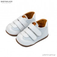 Λευκά Sneakers από με Διπλή Μπαρέτα Babywalker PRI2080