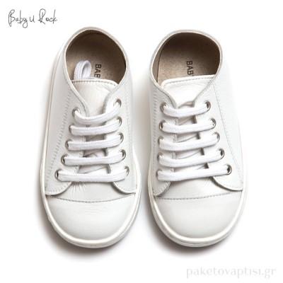 Sneakers Παπουτσάκια Βάπτισης Baby u Rock 500611