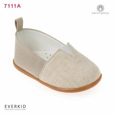 Υφασμάτινα Παπουτσάκια για τα Πρώτα Βήματα Everkid 7111