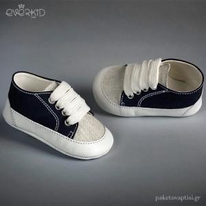 Sneakers Αγκαλιάς Everkid 9102Μ
