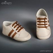 Δερμάτινα Δετά Sneakers Αγκαλιάς Everkid 9105E