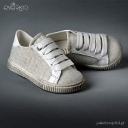 Δίχρωμα Δετά Sneakers Everkid 9152B