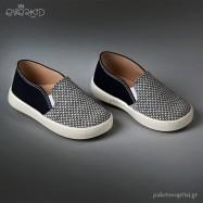 Μπλε Loafers Everkid 9155M