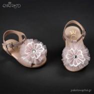 Δερμάτινα Ροζ Πέδιλα για τα Πρώτα Βήματα Everkid 9021A