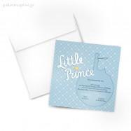 Προσκλητήριο Βάπτισης Little Prince / Μικρός Πρίγκιπας