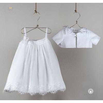 Βαπτιστικό Φόρεμα Ανθισμένο Angel Wings 250