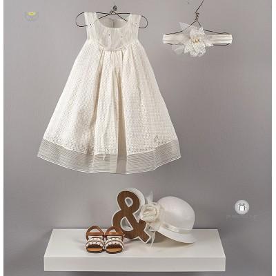 Βαπτιστικό Φόρεμα Valentina | Angel Wings 252