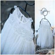 Βαπτιστικό Φόρεμα Κοντεσίνα | Angel Wings 005