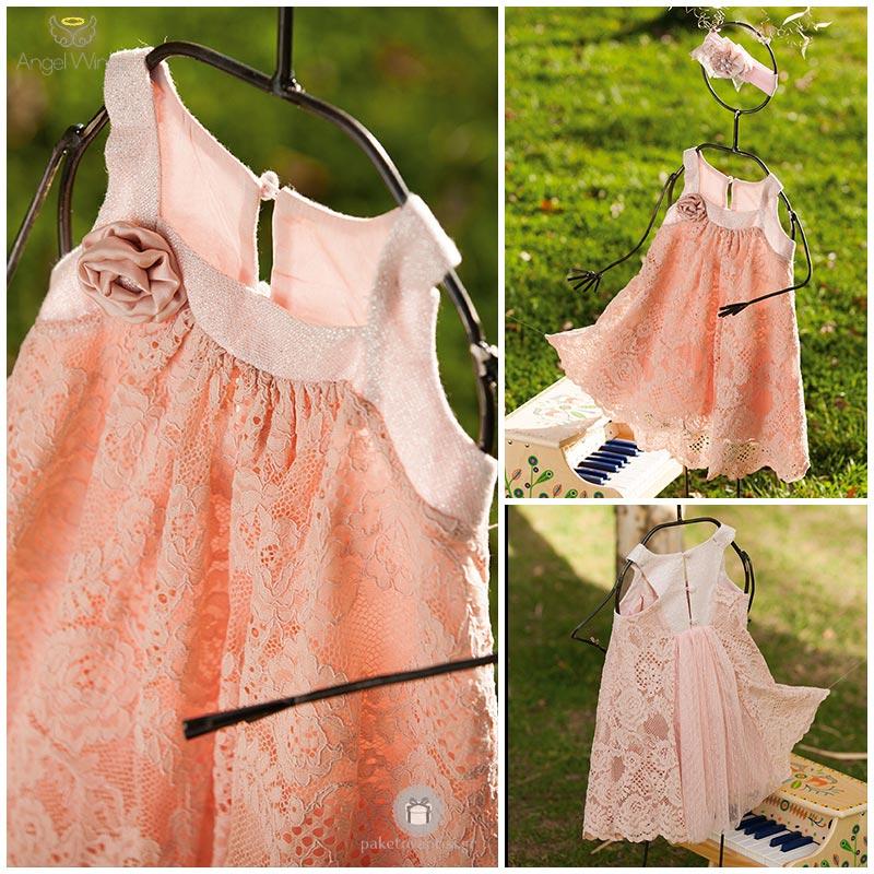 Βαπτιστικό Φόρεμα Βανέσσα  9994ca78975