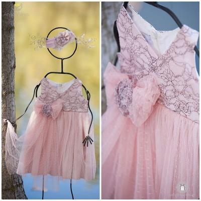 Βαπτιστικό Φόρεμα Αφροδίτη | Angel Wings 010