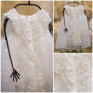 Βαπτιστικό Φόρεμα Diana | Angel Wings 011