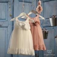 Βαπτιστικό Φόρεμα Veronica | Angel Wings 064