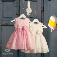 Βαπτιστικό Φόρεμα Lollipop | Angel Wings 070
