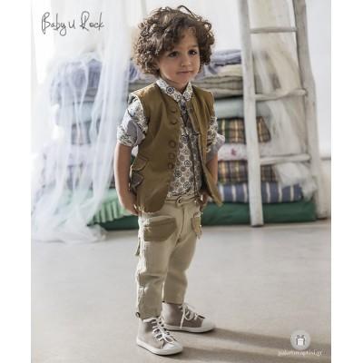 Βαπτιστικό Σύνολο για Αγόρια Baby U Rock 500712