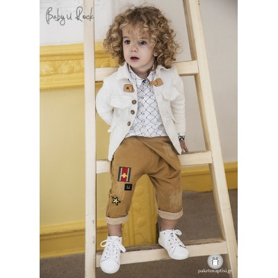 Βαπτιστικό Σύνολο για Αγόρια Baby U Rock 500715