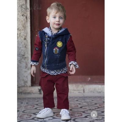 Βαπτιστικό Σύνολο για Αγόρια Baby U Rock 500722