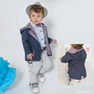 Βαπτιστικό Ρούχο για Αγόρια Μπλε Κόκκινο Γκρι Bonito 19114