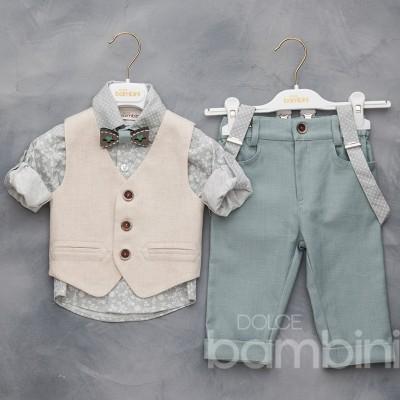 Βαπτιστικό Ρούχο για Αγόρια Dolce Bambini 2012