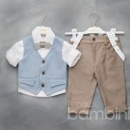 Βαπτιστικό Ρούχο για Αγόρια Dolce Bambini 2089