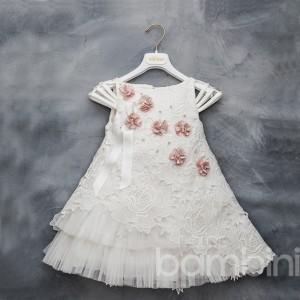 Βαπτιστικό Φόρεμα Dolce Bambini 304-1
