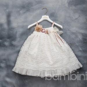 Βαπτιστικό Φόρεμα Dolce Bambini 308-1