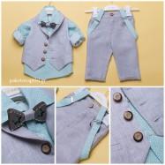 Βαπτιστικό Ρούχο για Αγόρια Dolce Bambini 2401