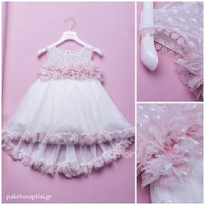 Βαπτιστικό Φόρεμα Dolce Bambini 343-1