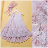 Βαπτιστικό Φόρεμα Dolce Bambini 345-8