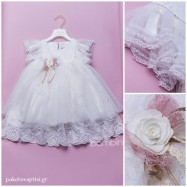 Βαπτιστικό Φόρεμα Dolce Bambini 351-1