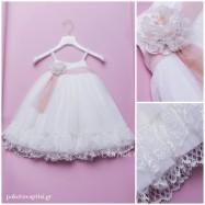 Βαπτιστικό Φόρεμα Dolce Bambini 353-1