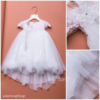 Βαπτιστικό Φόρεμα Dolce Bambini 357-1