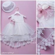 Βαπτιστικό Φόρεμα Dolce Bambini 359-1