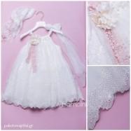 Βαπτιστικό Φόρεμα Dolce Bambini 361-1