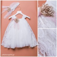 Βαπτιστικό Φόρεμα Dolce Bambini 362-1