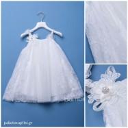 Βαπτιστικό Φόρεμα Dolce Bambini 366-1