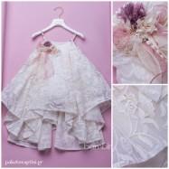 Βαπτιστικό Φόρεμα Dolce Bambini 367-1