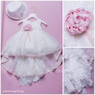 Βαπτιστικό Φόρεμα Dolce Bambini 371-1