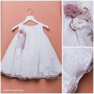 Βαπτιστικό Φόρεμα Dolce Bambini 372-1