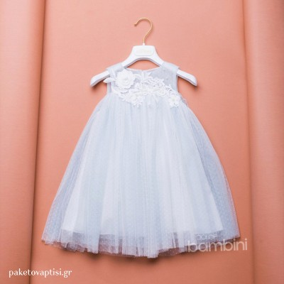 Βαπτιστικό Φόρεμα Dolce Bambini 373-9