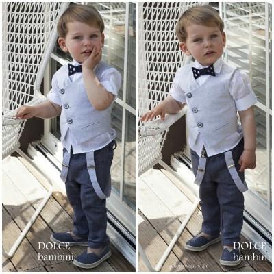 Βαπτιστικό Ρούχο για Αγόρια Dolce Bambini 2494