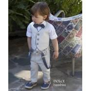 Βαπτιστικό Ρούχο για Αγόρια Dolce Bambini 2512
