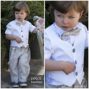 Βαπτιστικό Ρούχο για Αγόρια Dolce Bambini 2515