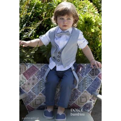 Βαπτιστικό Ρούχο για Αγόρια Dolce Bambini 2524