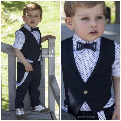 Βαπτιστικό Ρούχο για Αγόρια Dolce Bambini 2526