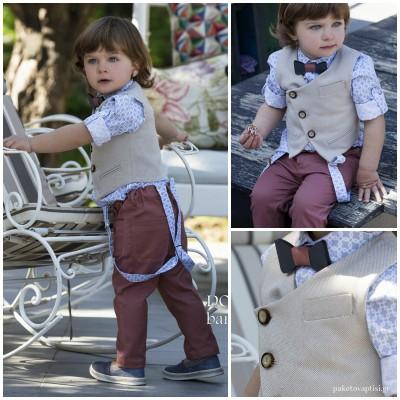 Βαπτιστικό Ρούχο για Αγόρια Dolce Bambini 2528